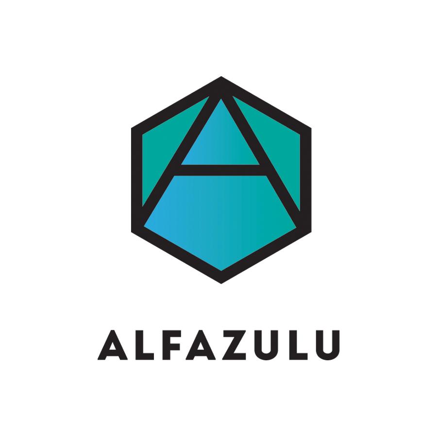 AlfaZulu_SR.18 logo design by logo designer Stephanie Russell Design