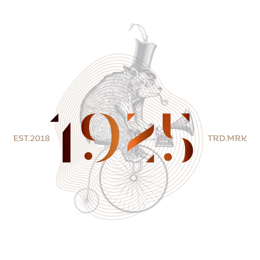 1925 logo design by logo designer Iskandara