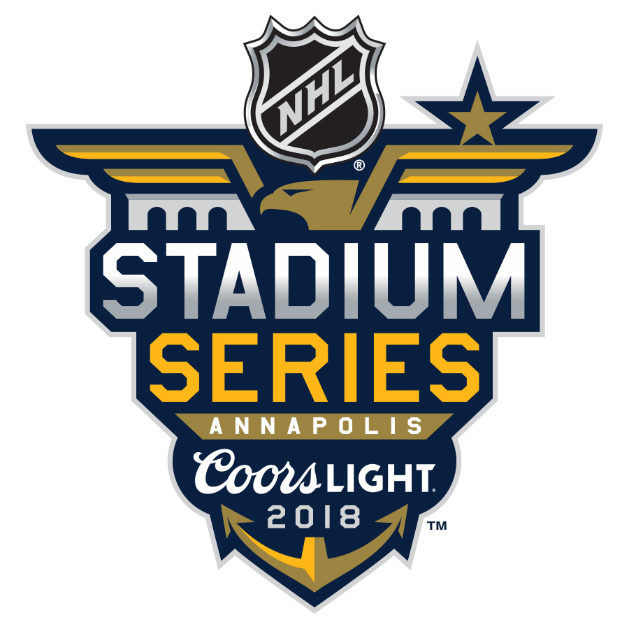 2018 NHL Stadium Series Brand Identity