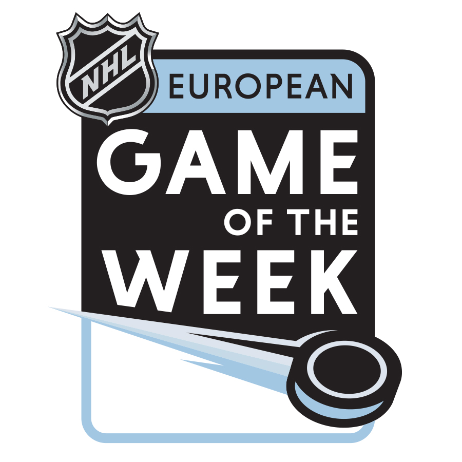 NHL European Game of the Week Identity