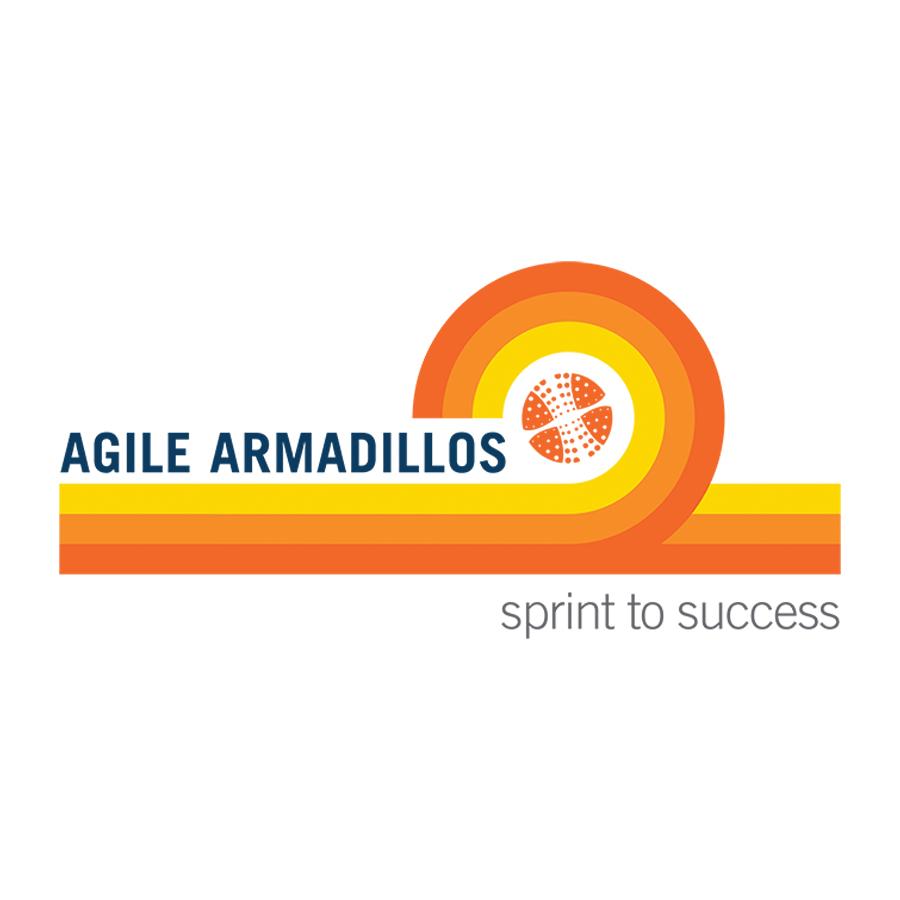 Agile Armadillos logo design by logo designer Bizri Design Co.
