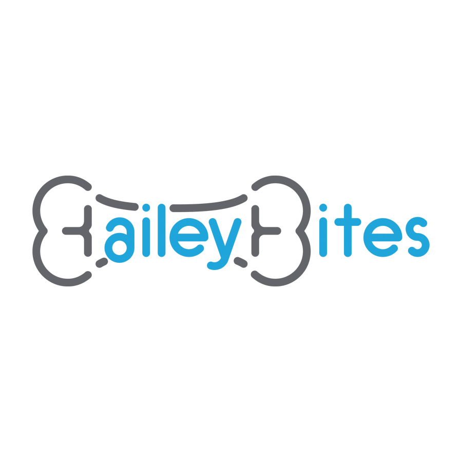 Bailey Bites logo design by logo designer Bizri Design Co.