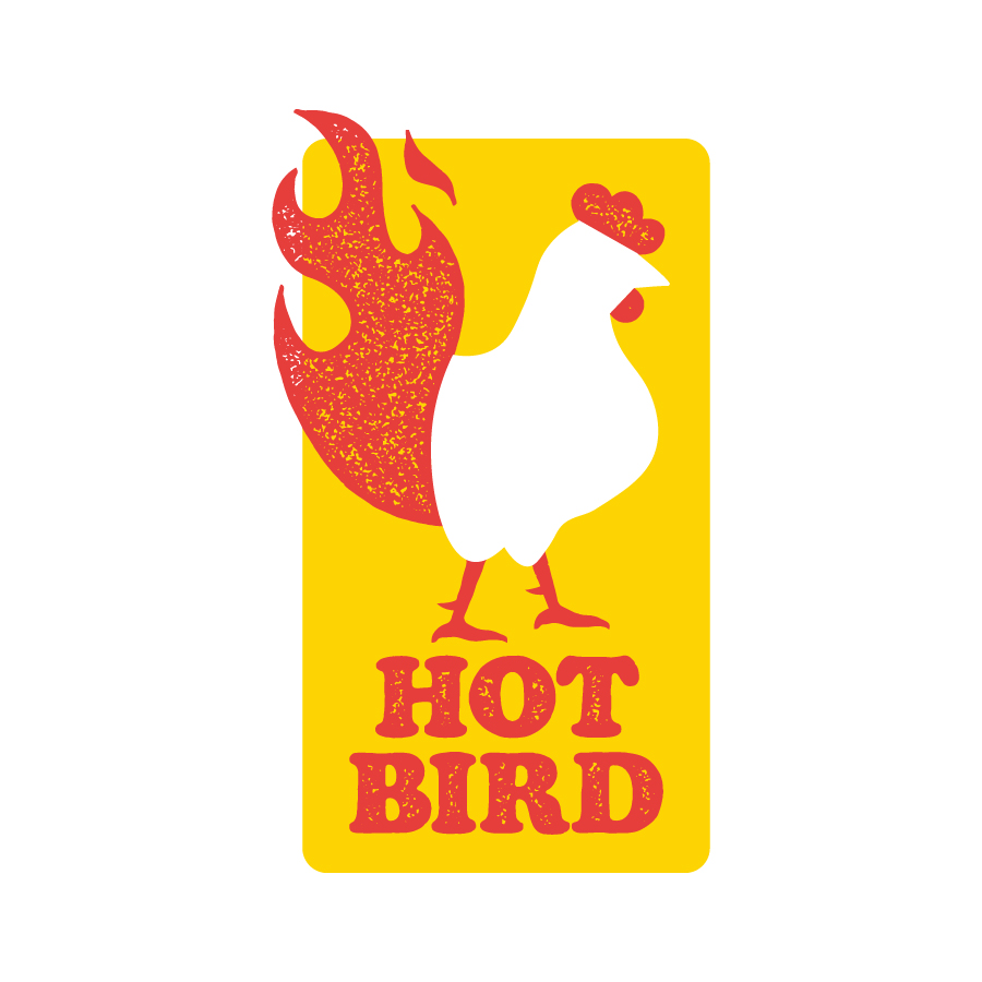 Jacki M's & Son Hot Bird logo design by logo designer Jason Craig for your inspiration and for the worlds largest logo competition