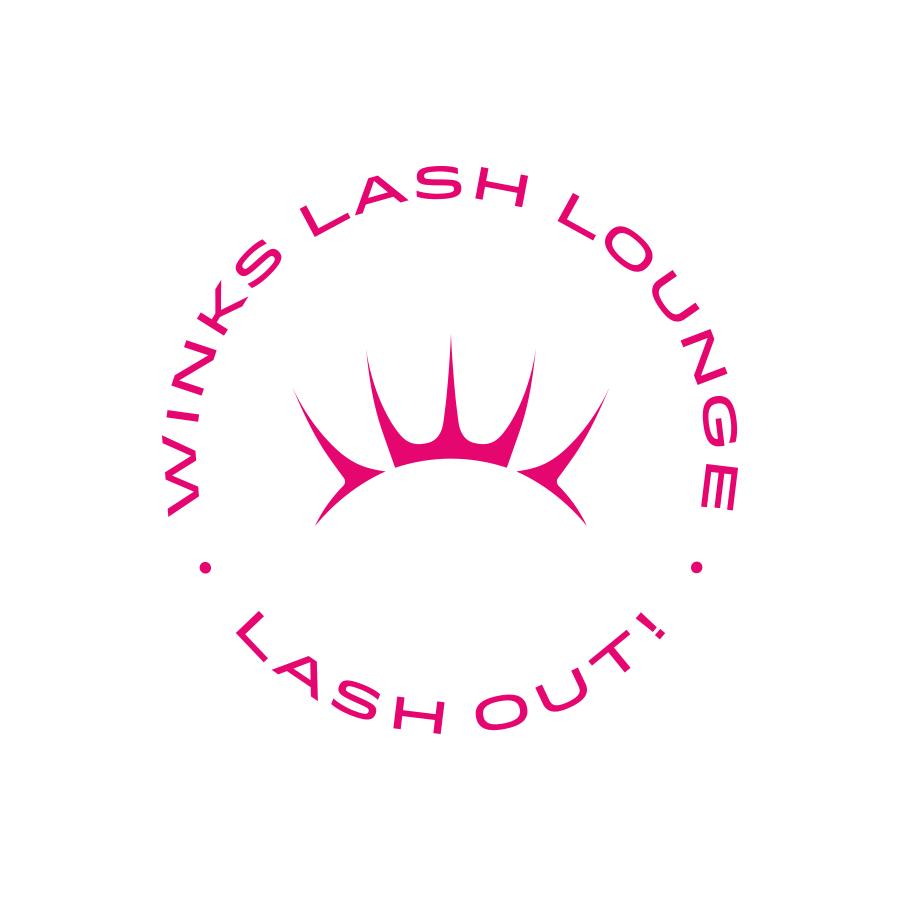 Winks Lash Lounge Secondary Tagline Seal