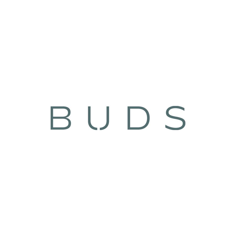 Buds Wordmark logo design by logo designer Lisa Gorham Creative