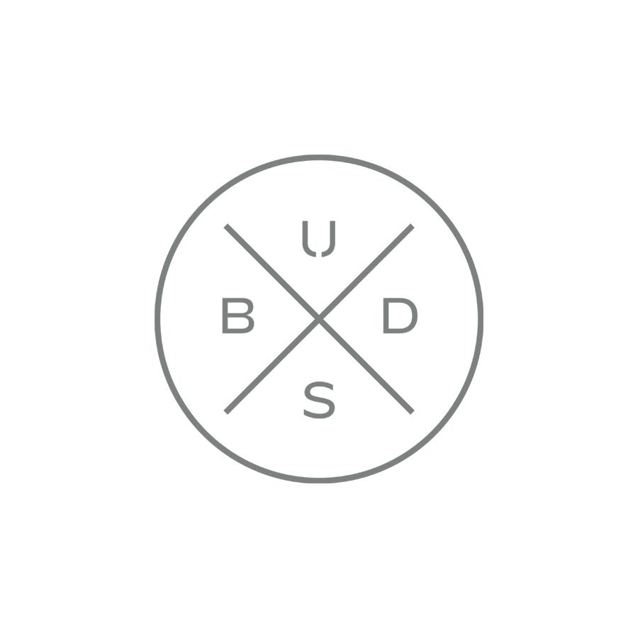 Buds Secondary Seal logo design by logo designer Lisa Gorham Creative