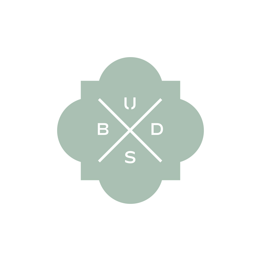 Buds Trelace Mark logo design by logo designer Lisa Gorham Creative