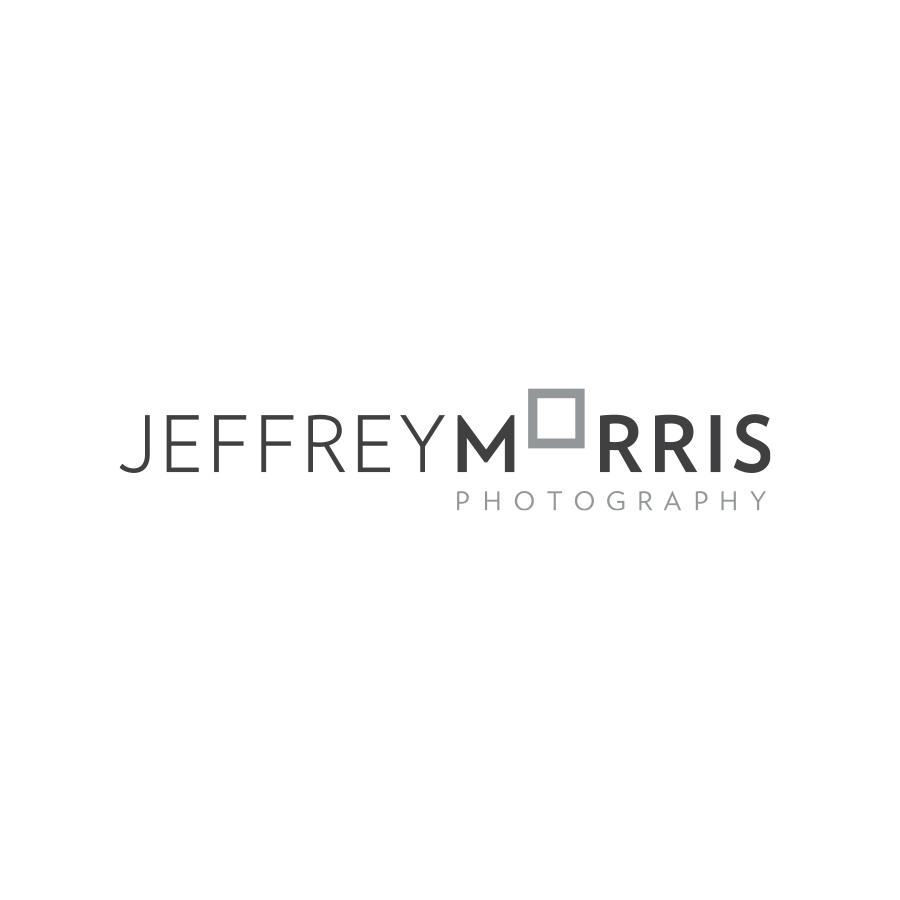 Jeffrey Morris Photography Primary Logo logo design by logo designer Lisa Gorham Creative