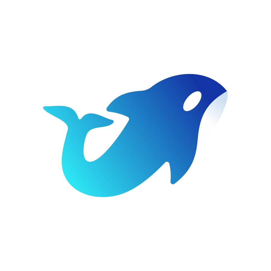 Orca logo design by logo designer Dalius Stuoka for your inspiration and for the worlds largest logo competition