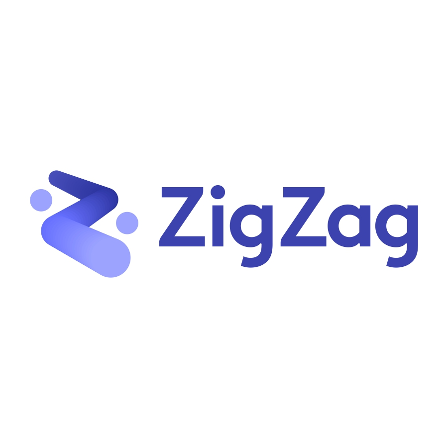 ZigZag logo design by logo designer Dalius Stuoka for your inspiration and for the worlds largest logo competition