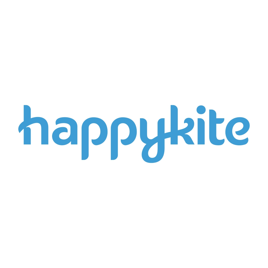 happykite logo design by logo designer Dalius Stuoka for your inspiration and for the worlds largest logo competition