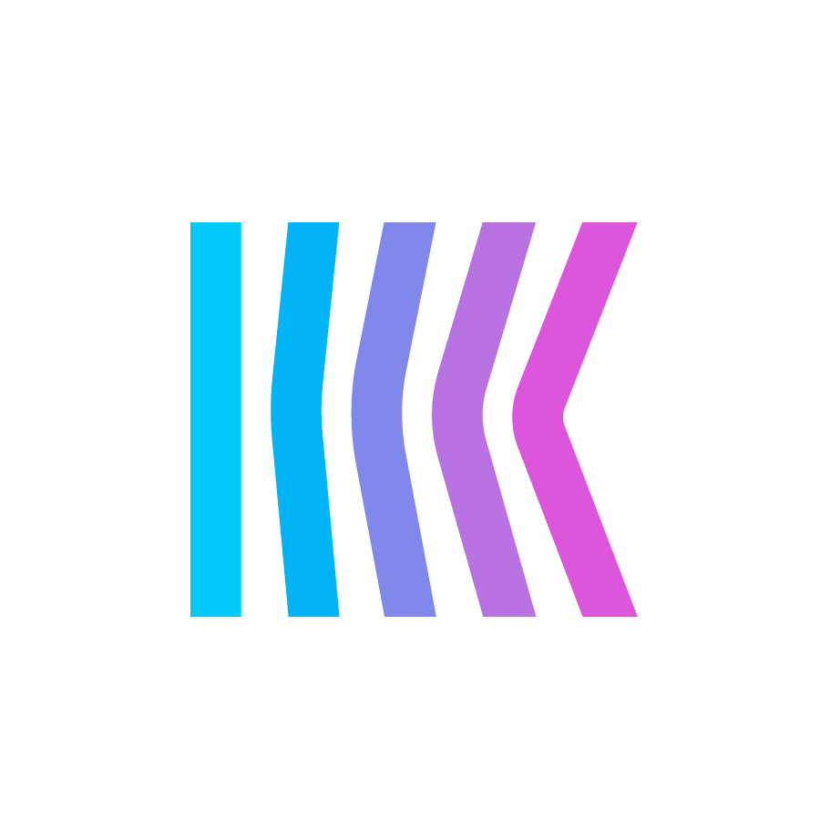 K logo design by logo designer monome