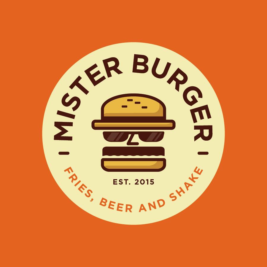 mister burger logo design by logo designer spoonlancer