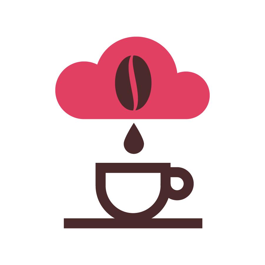 PINK CLOUD logo design by logo designer spoonlancer
