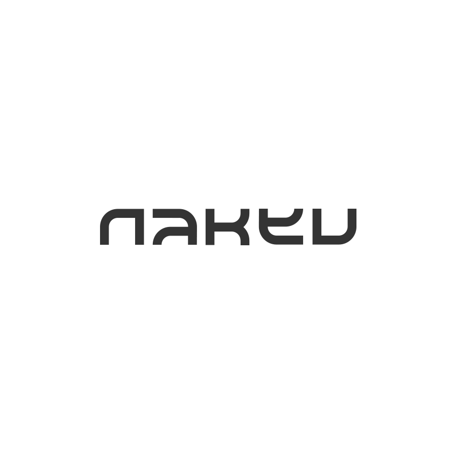 naked logo design by logo designer Damian Kidd