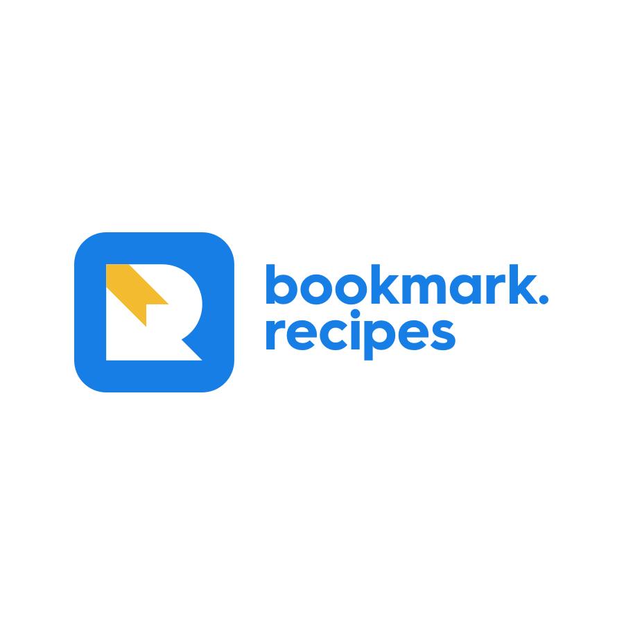 Bookmark Recipes logo design by logo designer Damian Kidd