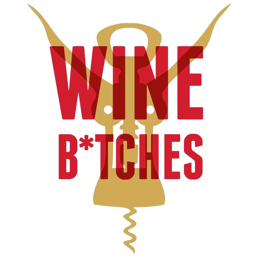 Wine B*tches logo design by logo designer T.Barnes Graphics