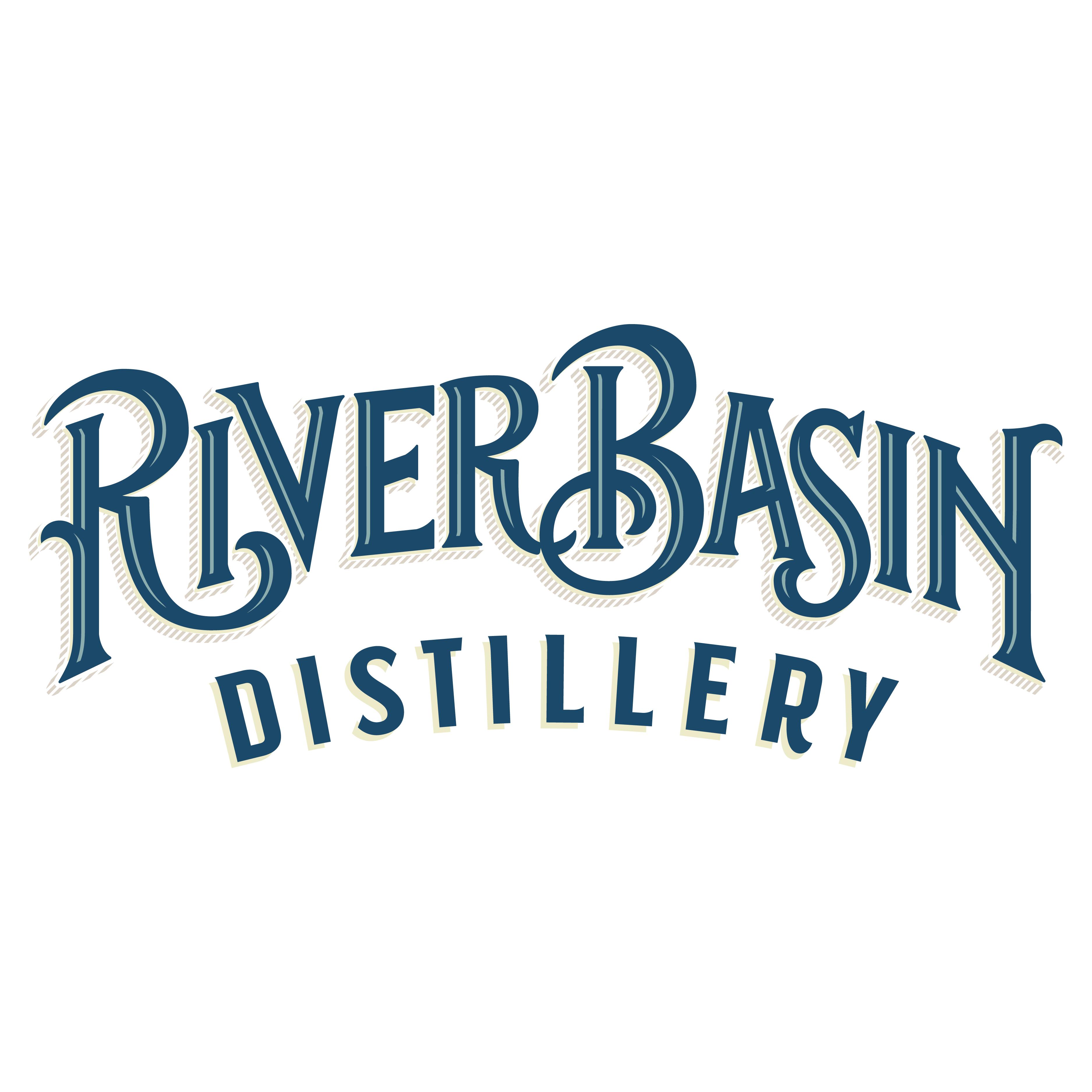 River Basin Distillery logo design by logo designer T.Barnes Graphics