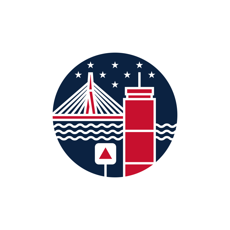 Boston logo design by logo designer Mike Schaeffer Design for your inspiration and for the worlds largest logo competition