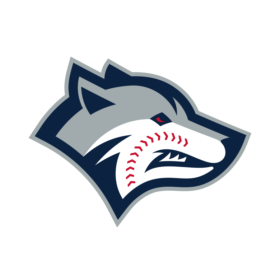 Wolfpack Baseball logo design by logo designer Mike Schaeffer Design for your inspiration and for the worlds largest logo competition