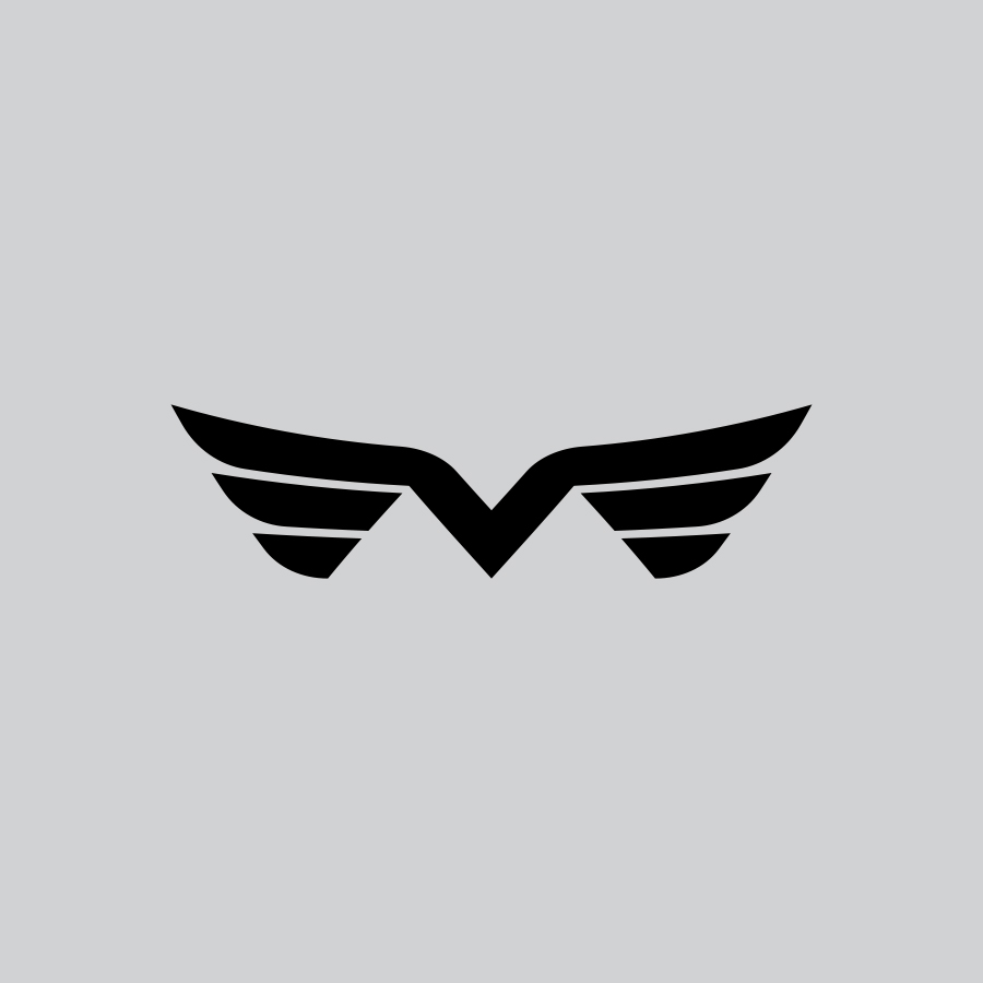 M Wings logo design by logo designer Mike Schaeffer Design for your inspiration and for the worlds largest logo competition