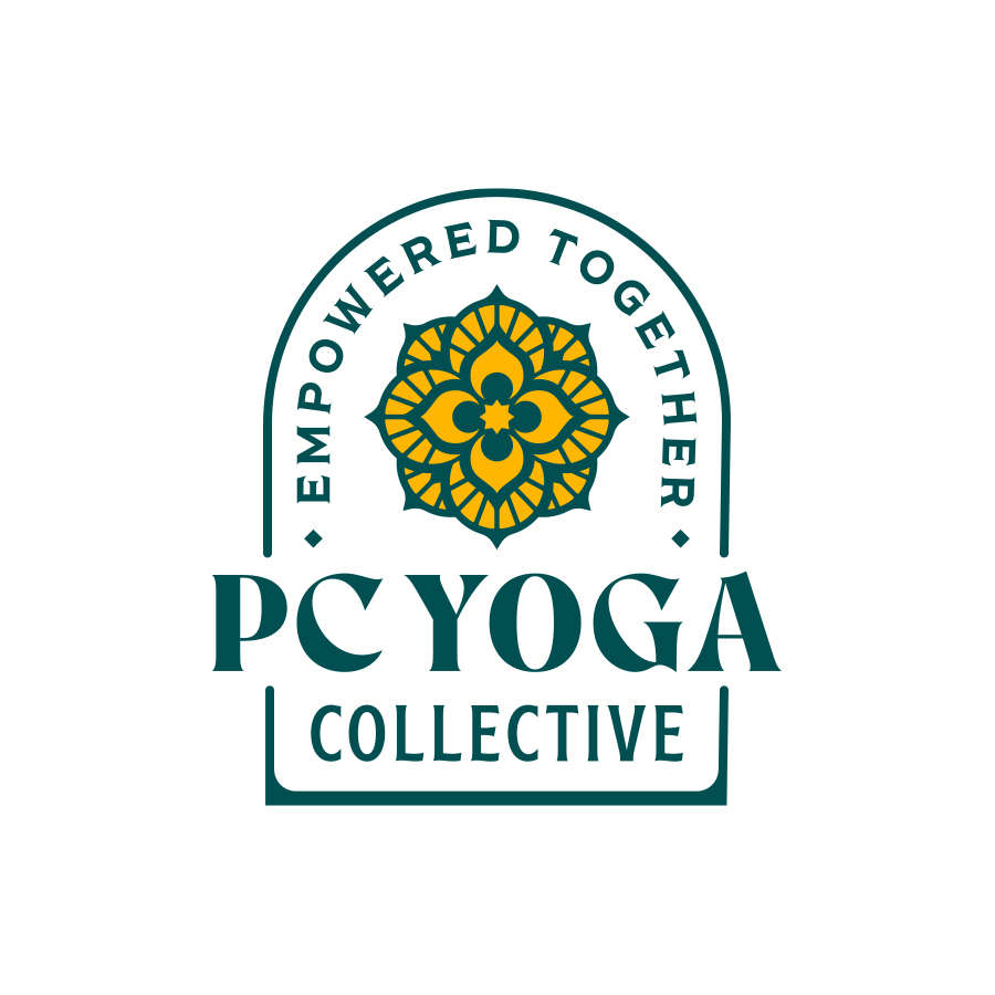 PC Yoga Logo logo design by logo designer Pretty Useful Co. for your inspiration and for the worlds largest logo competition