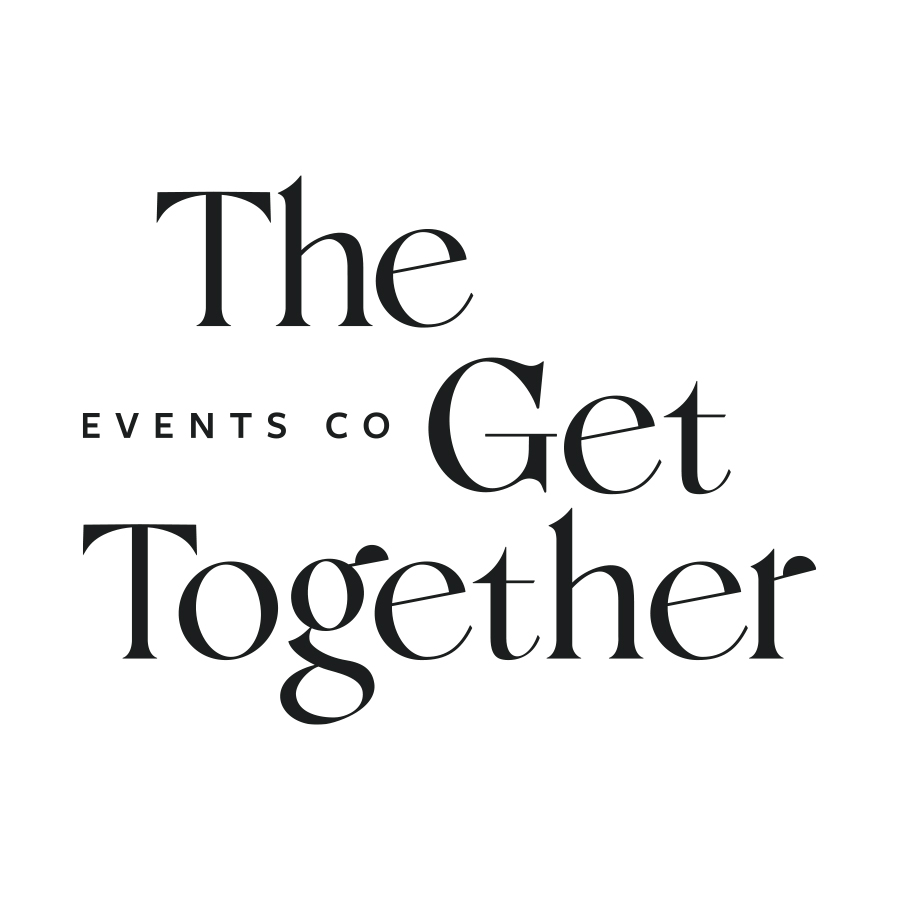 The Get Together Stacked logo design by logo designer Pretty Useful Co. for your inspiration and for the worlds largest logo competition