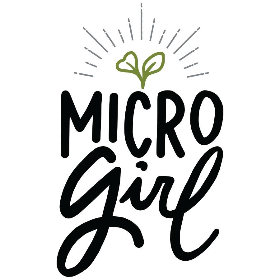 Microgirl Logo Design