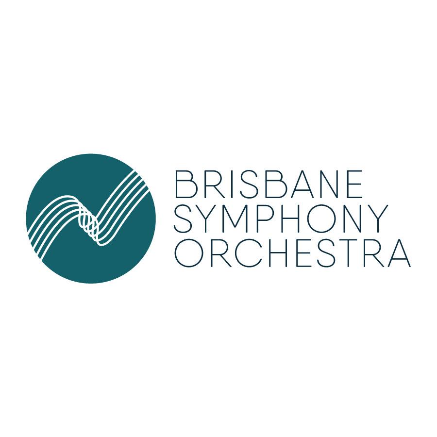 Brisbane Symphony Orchestra logo design by logo designer Popdot Media
