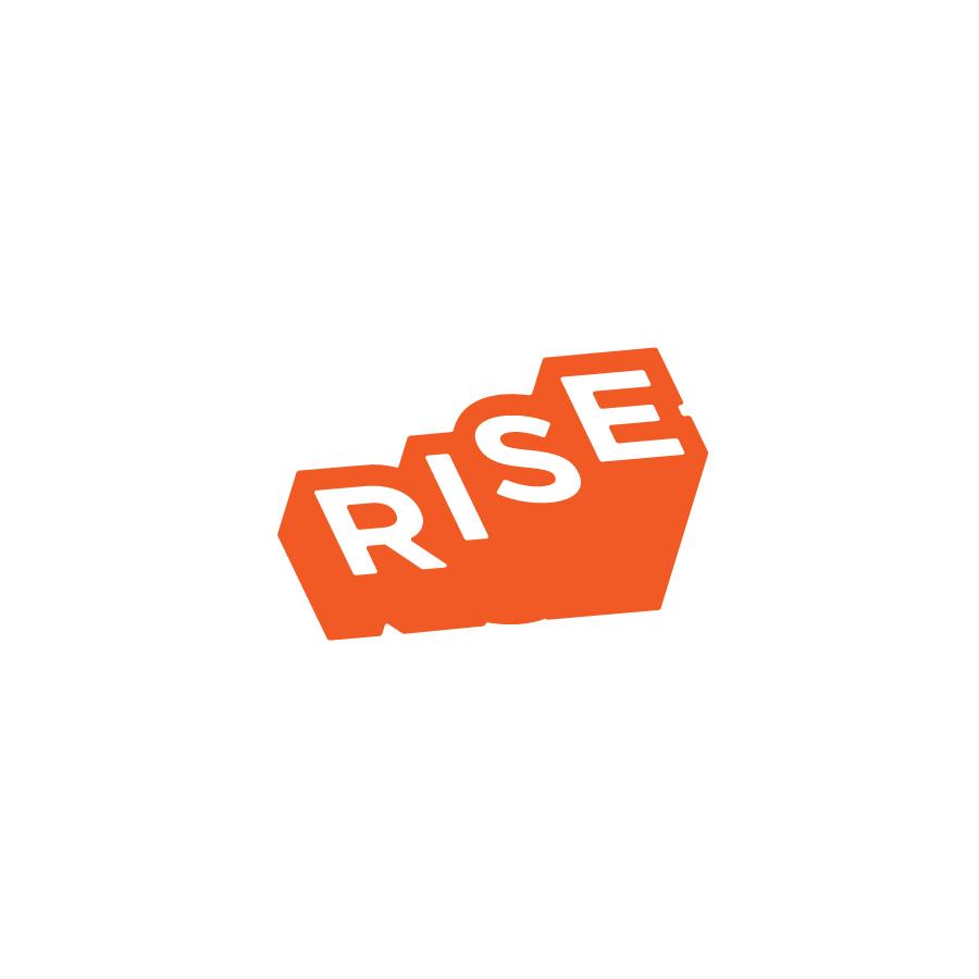 Rise logo design by logo designer Brandon Triola