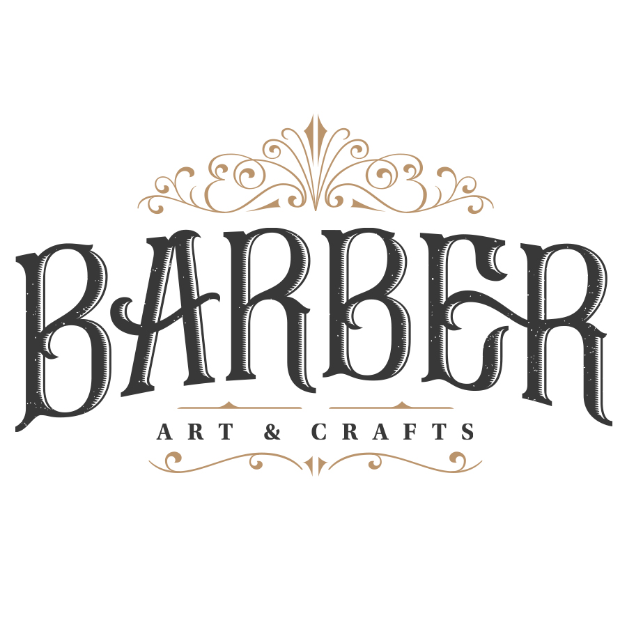 Logo design for Barber Art & Crafts