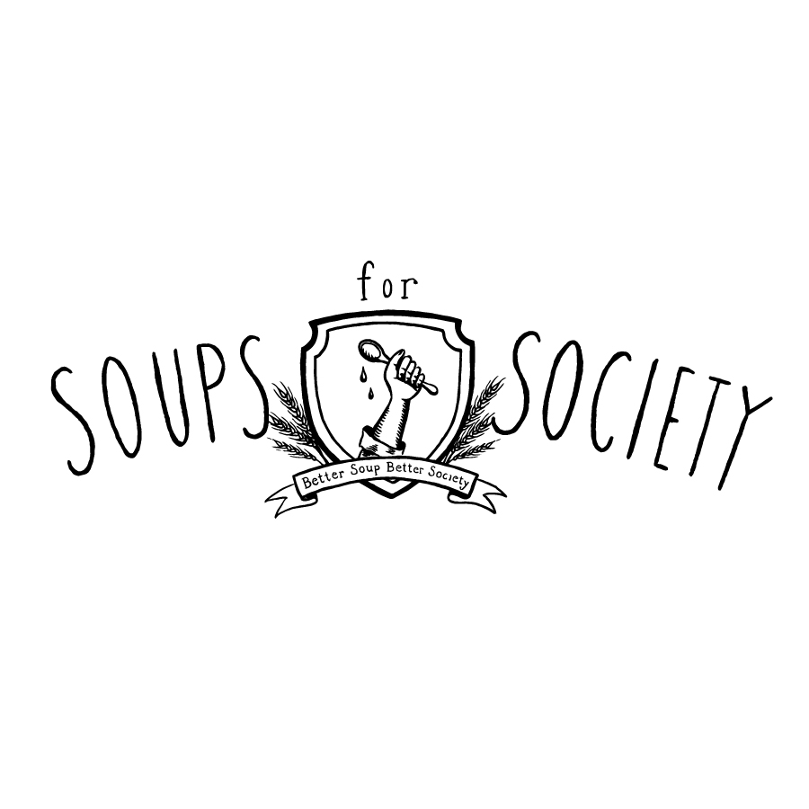Soups for Society logo design by logo designer Haley Mistler Design