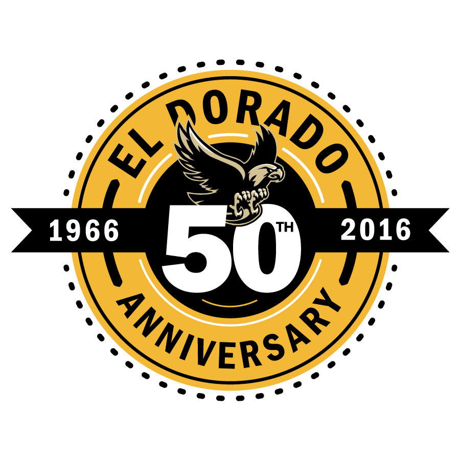 EDHS 50th Anniversary logo design by logo designer Block Designs for your inspiration and for the worlds largest logo competition