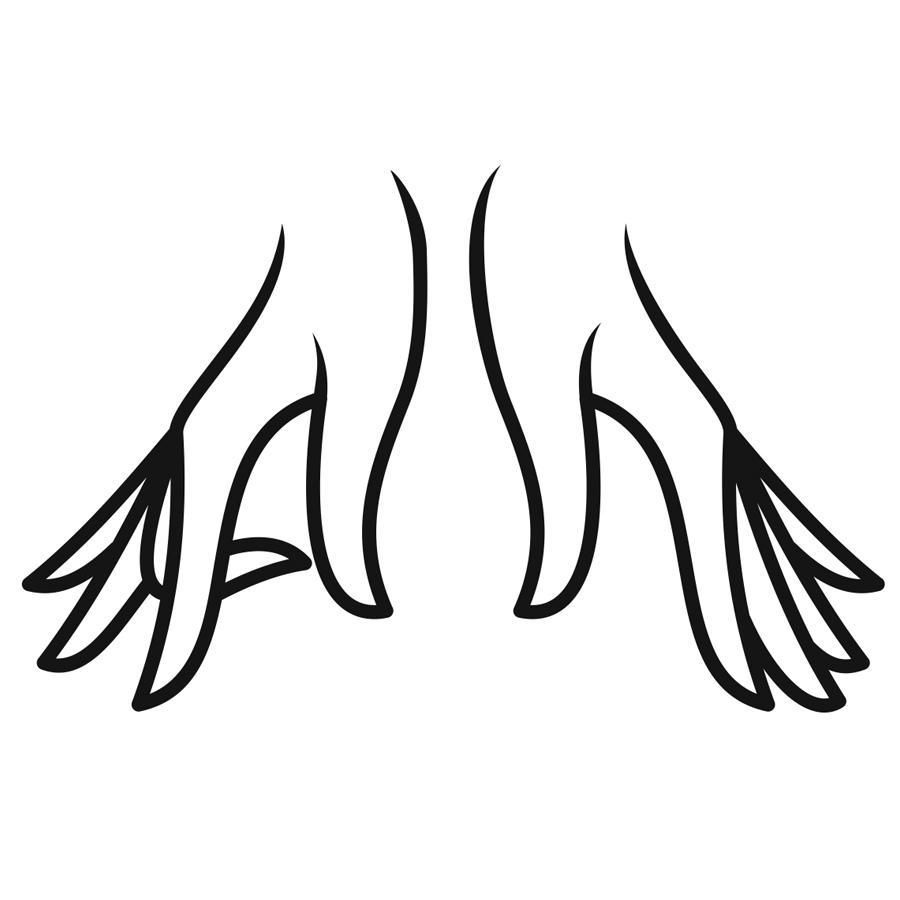 Massage_AlenaLyubimova_hands_ logo design by logo designer Kovalen.com