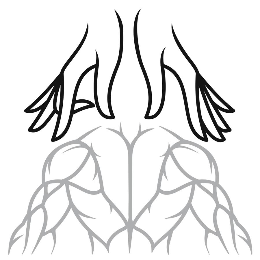 Massage_AlenaLyubimova_hands logo design by logo designer Kovalen.com