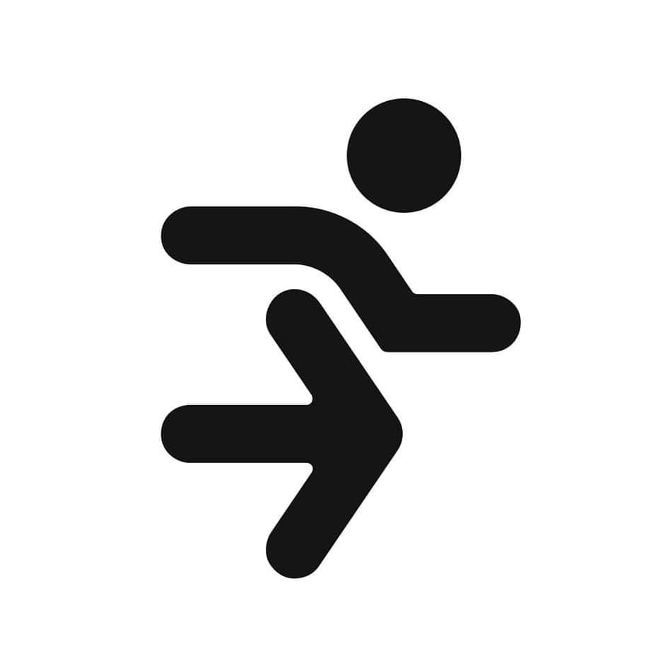 Running  logo design by logo designer Kovalen.com