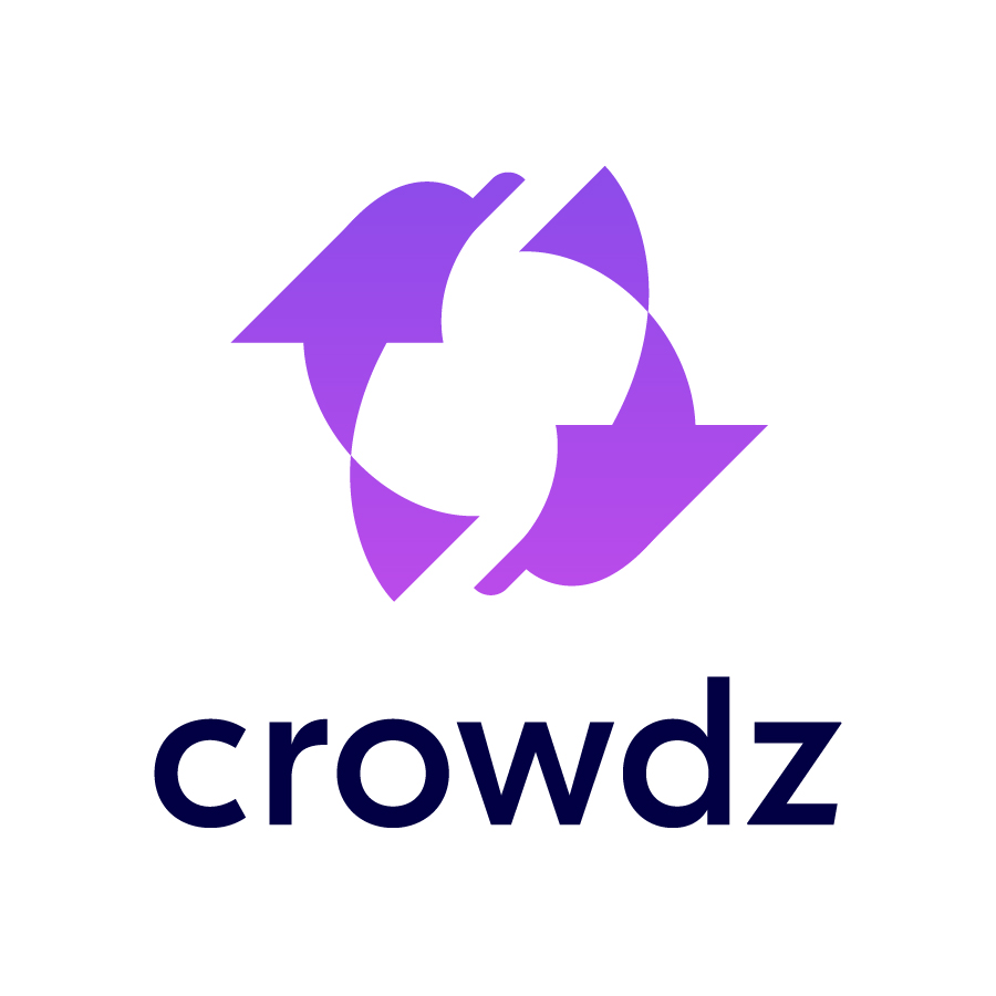 Crowdz Logo logo design by logo designer Two Bridges Design, LLC for your inspiration and for the worlds largest logo competition