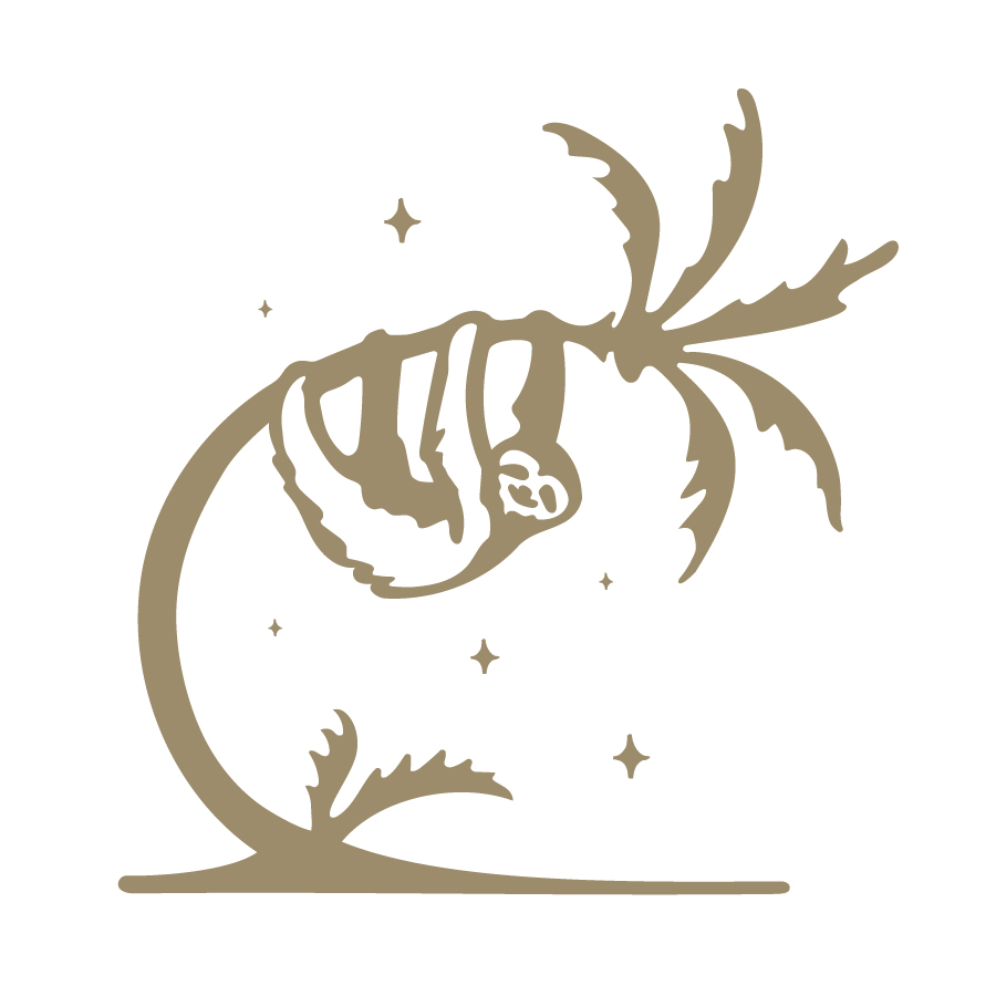 Sans Sloth Logo logo design by logo designer Two Bridges Design, LLC for your inspiration and for the worlds largest logo competition