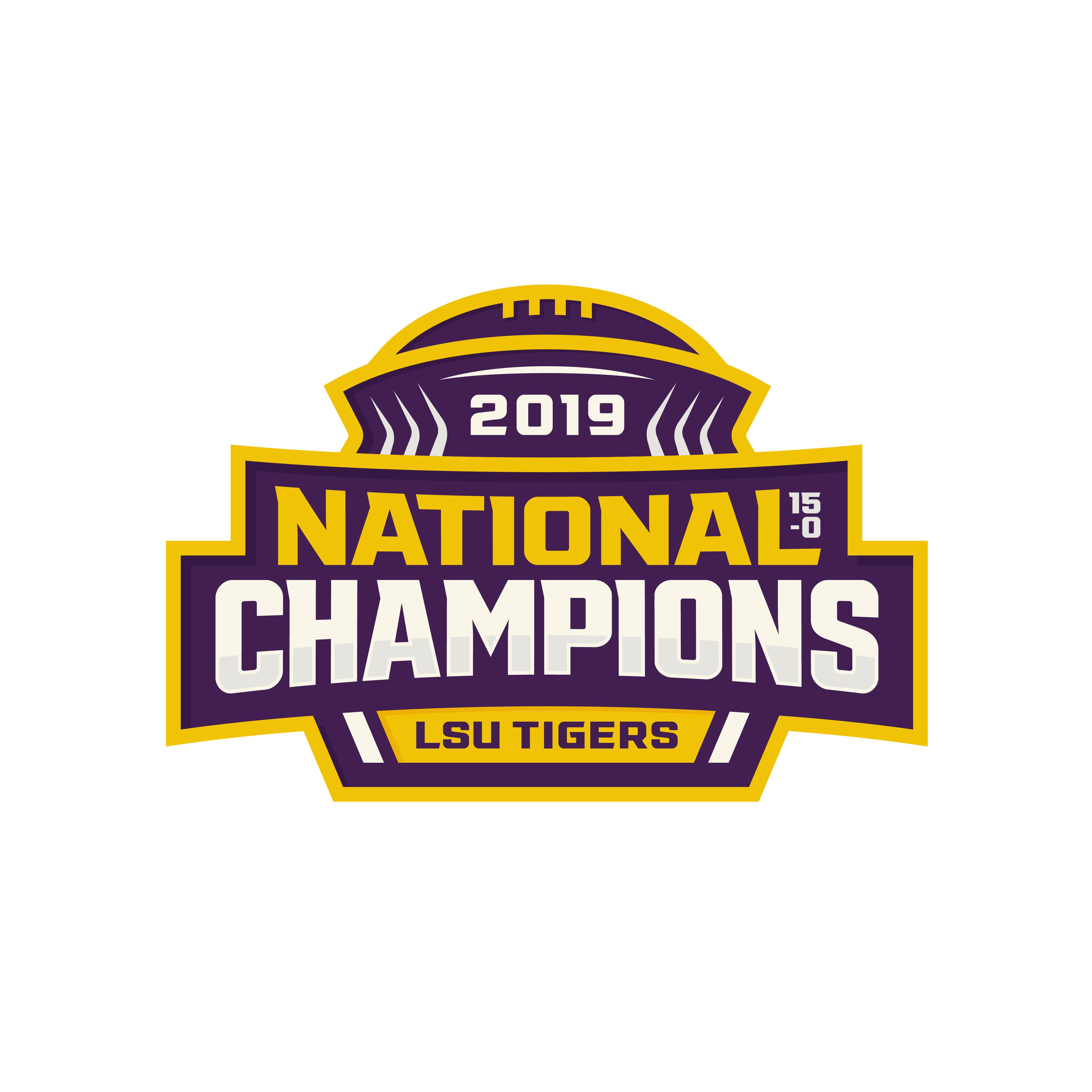 2019 National Champions Logo