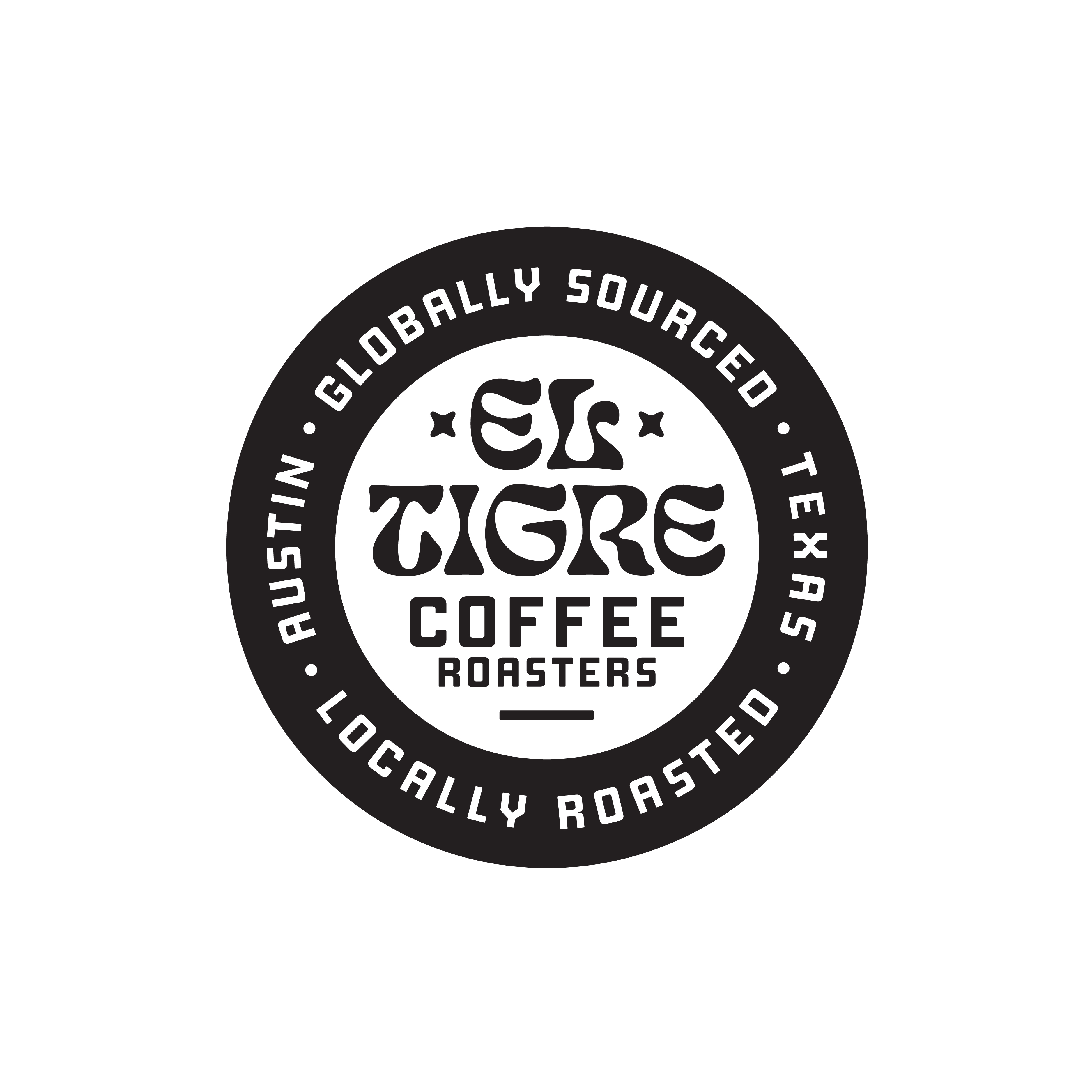 El Tigre Coffee Roasters Badge