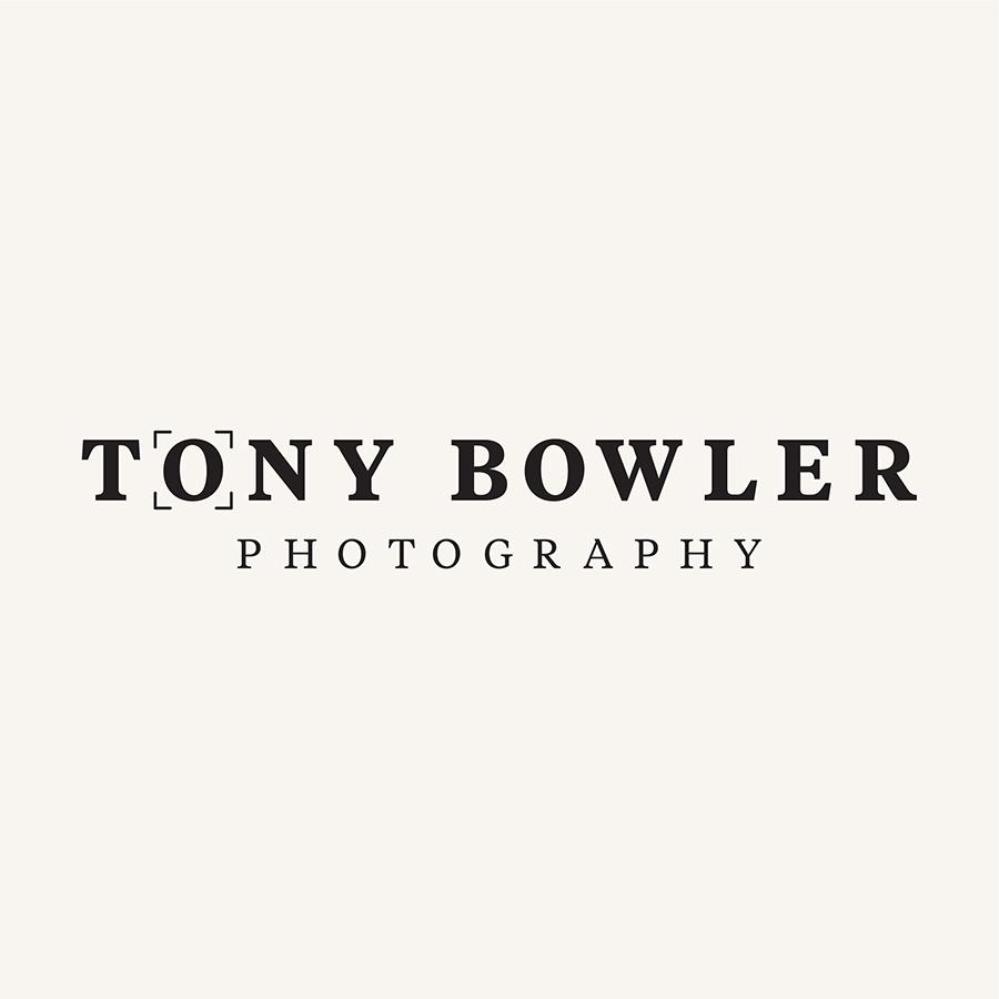 Tony Bowler Photography Logo Concept logo design by logo designer Franklin Cooper Design Studio