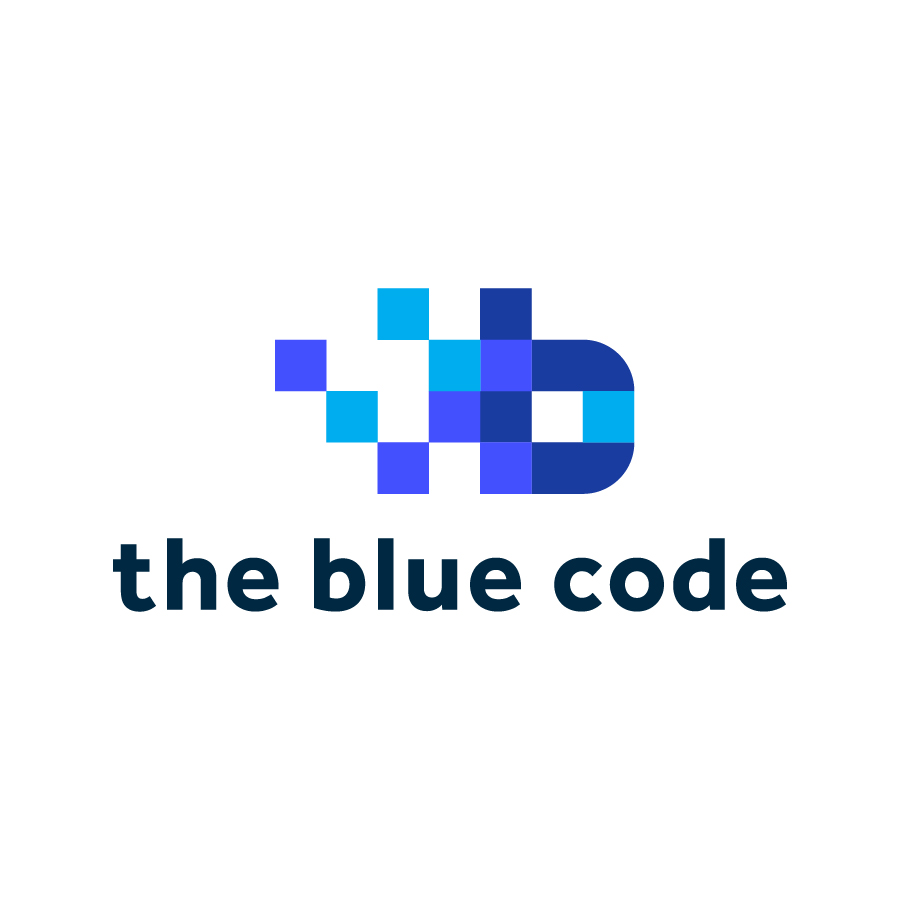 Logo_Lounge_Logos_The_Blue_Code logo design by logo designer Franklin Cooper Design Studio
