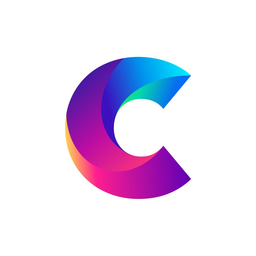 C logo design by logo designer Zivile Zickute