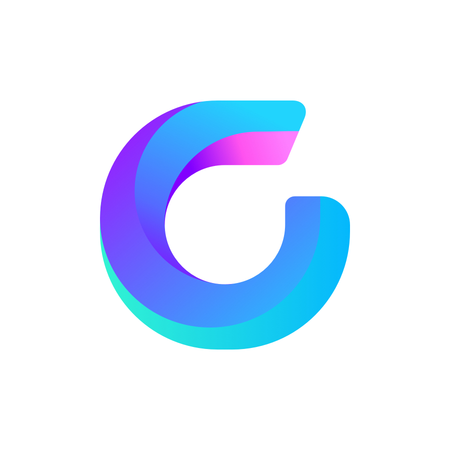 G shape logo design by logo designer Zivile Zickute