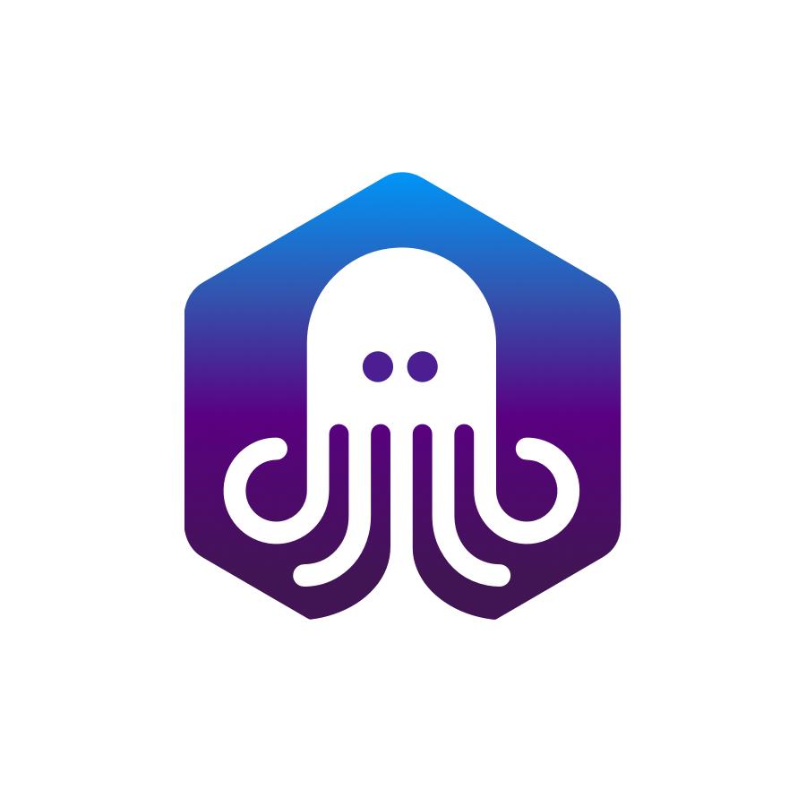 Octopus logo design by logo designer Zivile Zickute