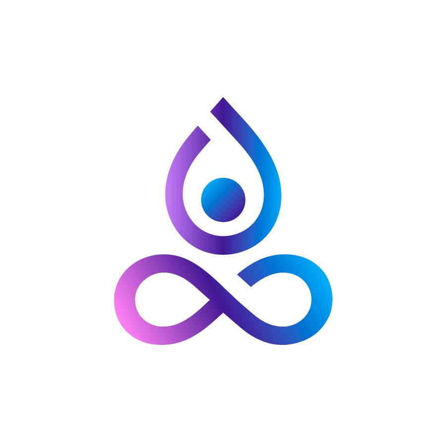 Yoga Center logo design by logo designer Zivile Zickute