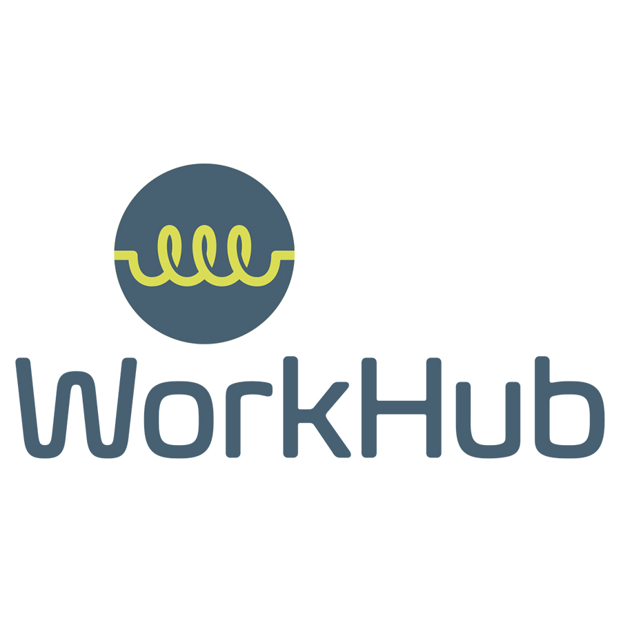 Workhub Stacked Logo