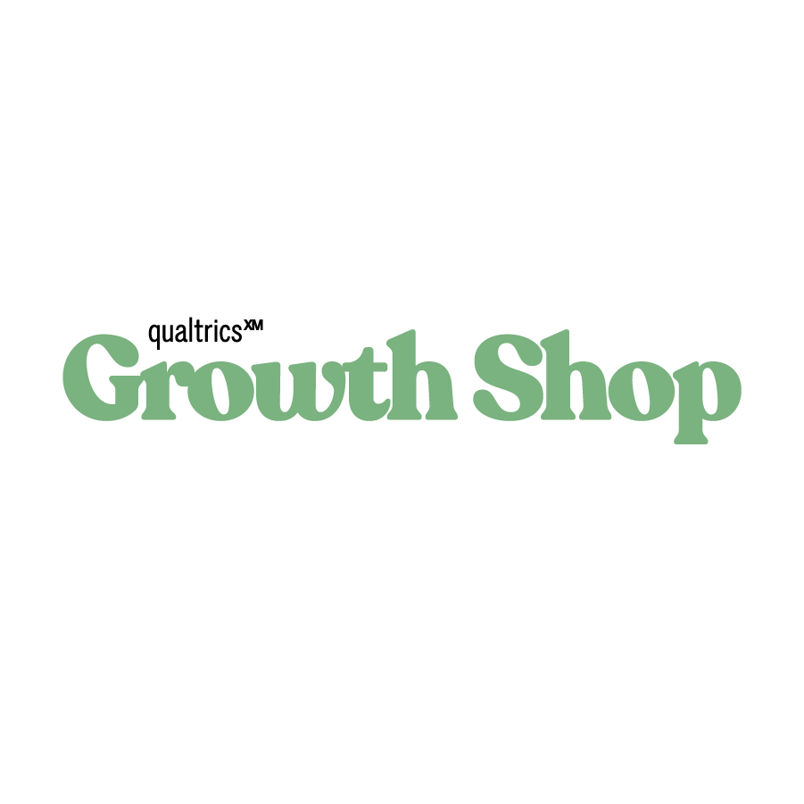 Growth Shop logo design by logo designer Qualtrics for your inspiration and for the worlds largest logo competition