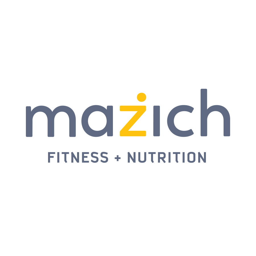 Mazich Fitness & Nutrition logo design by logo designer Smidge Design Studio