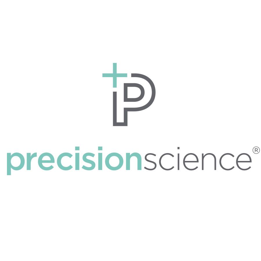 Precision Science logo design by logo designer Smidge Design Studio